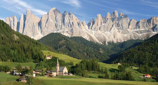 The Geology of the Dolomites
