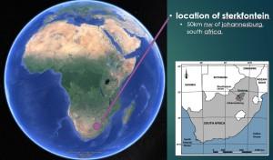 Location of Sterkfontein